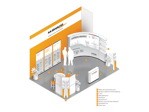 Exhibition Stand Design And Construction : Exhibition stand design and building for m i swaco msk