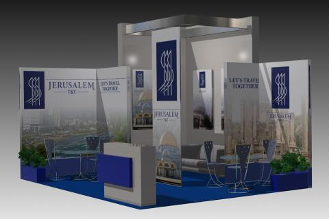 Jerusalem T&T Ltd. trade show booth design and building | MSK-